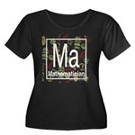 Mathematician Retro Women's Plus Size Scoop Neck D