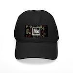 Mathematician Retro Black Cap