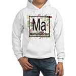 Mathematician Retro Hooded Sweatshirt