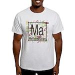 Mathematician Retro Light T-Shirt