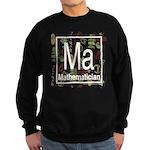 Mathematician Retro Sweatshirt (dark)