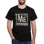 Mathematician Retro Dark T-Shirt