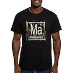 Mathematics Retro Men's Fitted T-Shirt (dark)