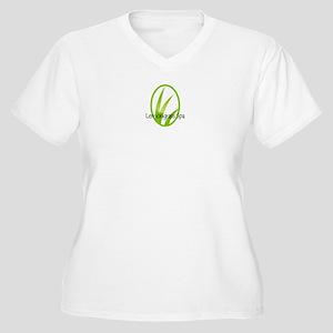 Lemongrass Women's Plus Size V-Neck T-Shirt