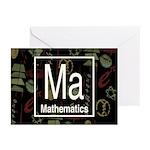 Mathematics Retro Greeting Cards (Pk of 10)