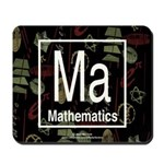 Mathematics Retro Mousepad