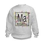 Mathematics Retro Kids Sweatshirt
