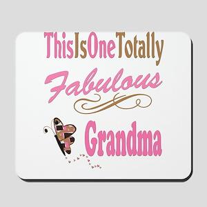 Fabulous Grandma Mousepad