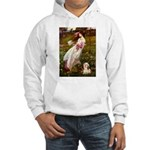 Windflowers / Lhasa Apso #4 Hooded Sweatshirt