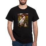 Windflowers / Lhasa Apso #4 Dark T-Shirt