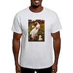 Windflowers / Lhasa Apso #4 Light T-Shirt