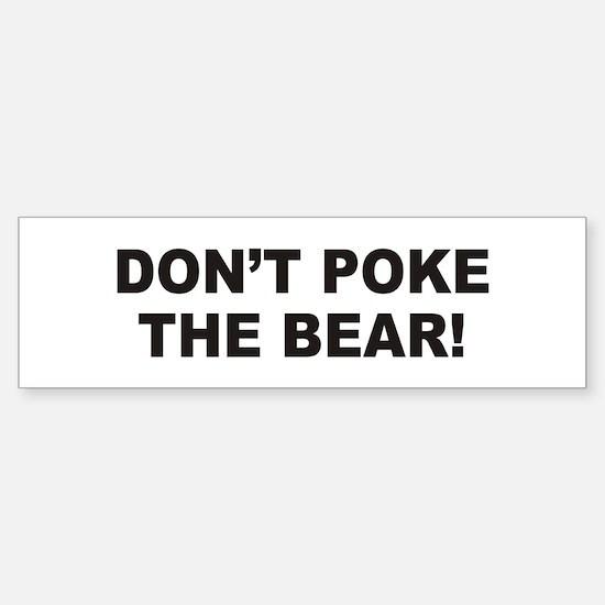 Bear Bumper Bumper Bumper Sticker