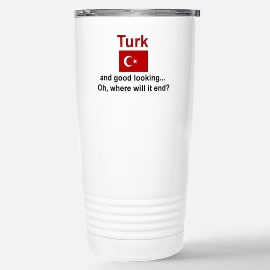 Good Looking Turk Stainless Steel Travel Mug