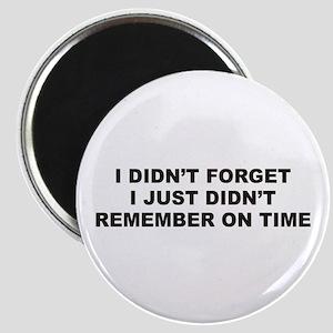 Forget Magnet