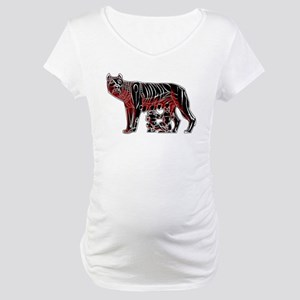 Romulus and Remus Maternity T-Shirt
