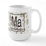 Mathematics Retro Large Mug
