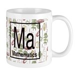 Mathematics Retro Mug