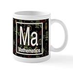 Mathematics Retro Dark Mug