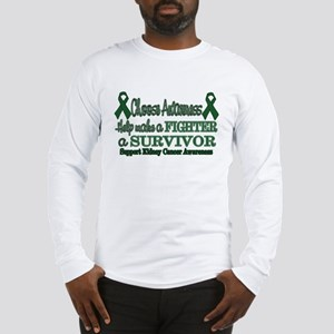 Fighters and Survivors Kidney Long Sleeve T-Shirt