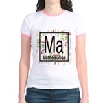 Mathematics Retro Jr. Ringer T-Shirt