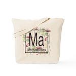 Mathematics Retro Tote Bag