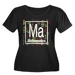 Mathematics Retro Women's Plus Size Scoop Neck Dar