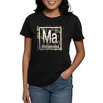 Mathematics Retro Women's Dark T-Shirt