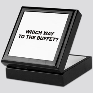 Buffet Keepsake Box