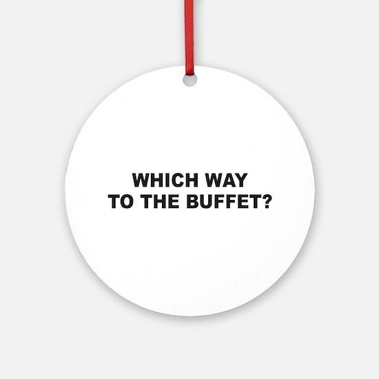 Buffet Ornament (Round)