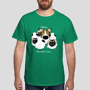 Smooth Collie - I Herd... Dark T-Shirt