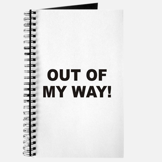 Out Of My Way Journal