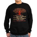 Jefferson's Tree of Liberty Sweatshirt (dark)