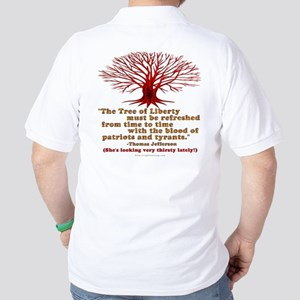 Jefferson's Tree of Liberty Golf Shirt