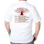 Jefferson's Tree of Liberty Golf Shirt