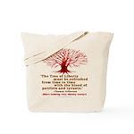 Jefferson's Tree of Liberty Tote Bag
