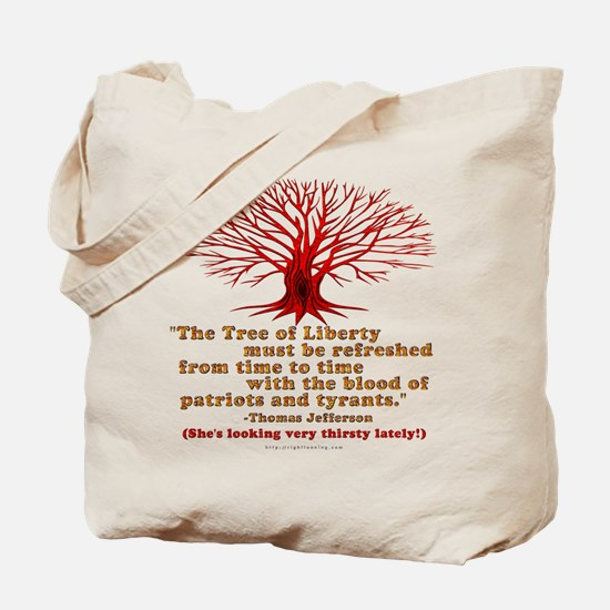 Jefferson's Tree of Liberty Tote Bag