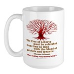 Jefferson's Tree of Liberty Large Mug