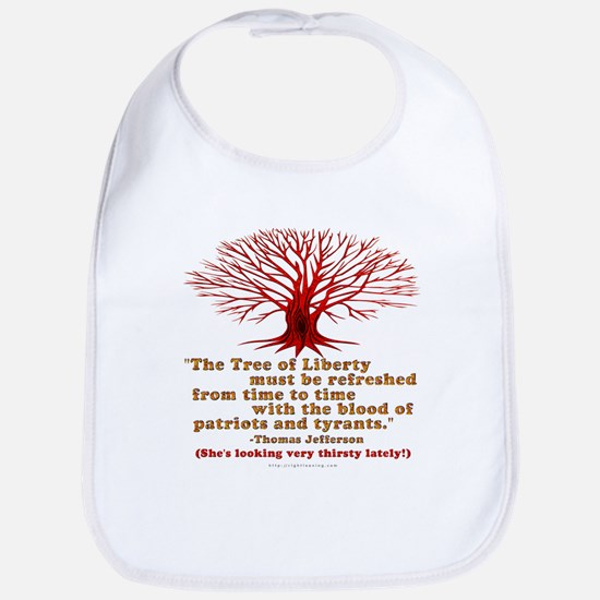 Jefferson's Tree of Liberty Bib