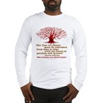 Jefferson's Tree of Liberty Long Sleeve T-Shirt