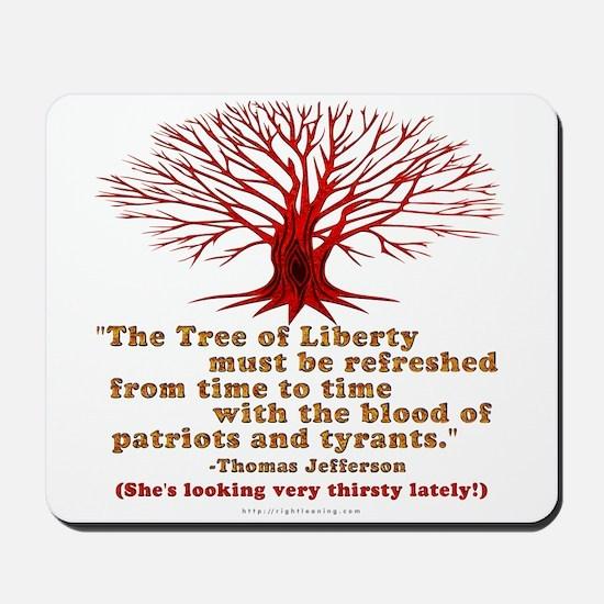 Jefferson's Tree of Liberty Mousepad