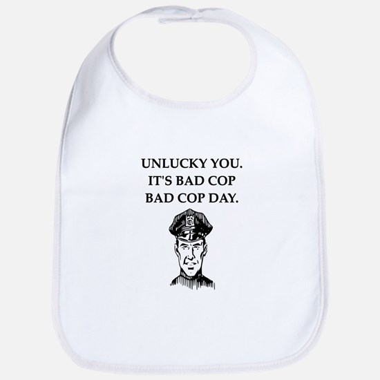 good cop police Bib