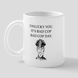 good cop police Mug