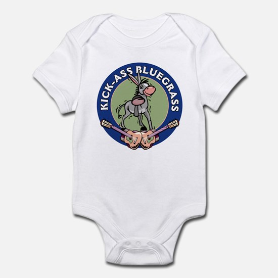 KICK-ASS BLUEGRASS Infant Bodysuit