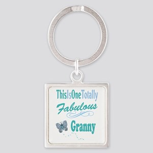 Fabulous Granny Square Keychain