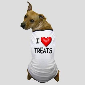 I Love Treats Dog T-Shirt