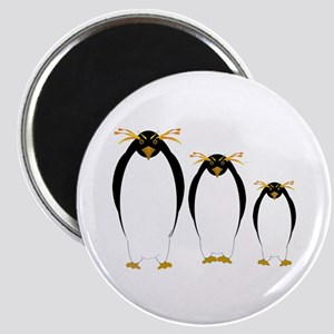 "Penguin Three 2.25"" Magnet (100 pack)"