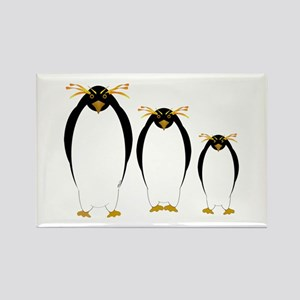 Penguin Three Rectangle Magnet (100 pack)