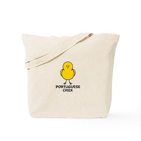 Portuguese Chick Tote Bag
