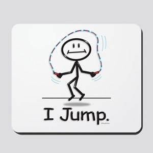 BusyBodies Jump Roping Mousepad