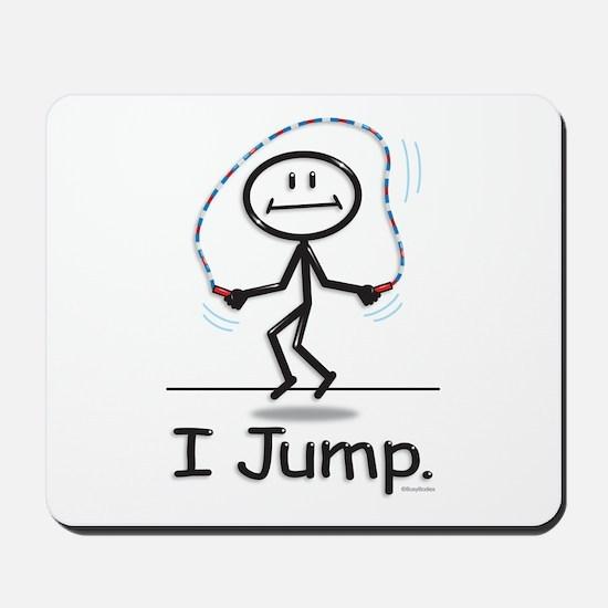 BusyBodies Jump Roping Mousepad